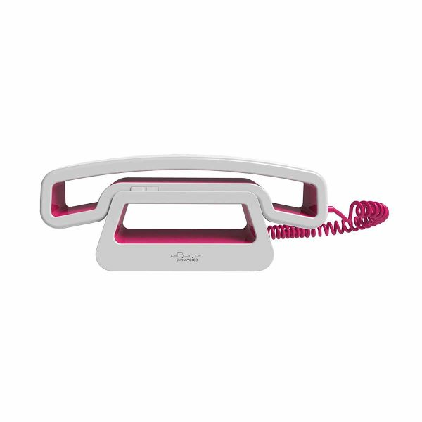 SwissVoice-ePure-CH01–Corded-Mobile-Handset – Pink-1-1