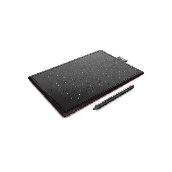One-by-Wacom Digital Graphic Design Pen Tablet for Drawing 04